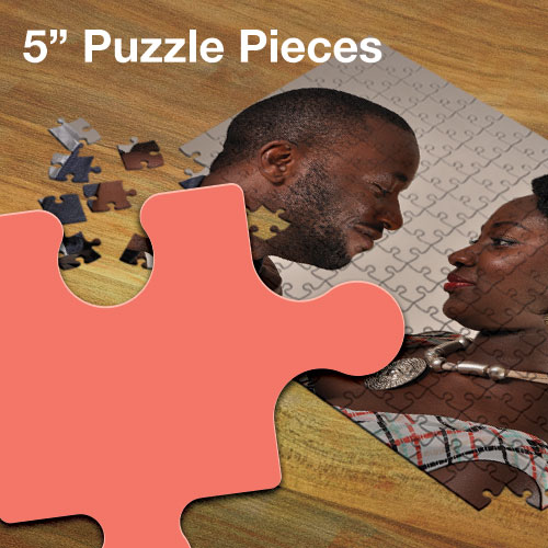 "Custom Jigsaw Puzzle - 5"" Pieces"